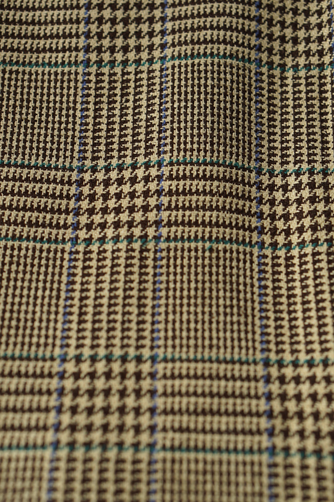 Silk Houndstooth Check Jacket