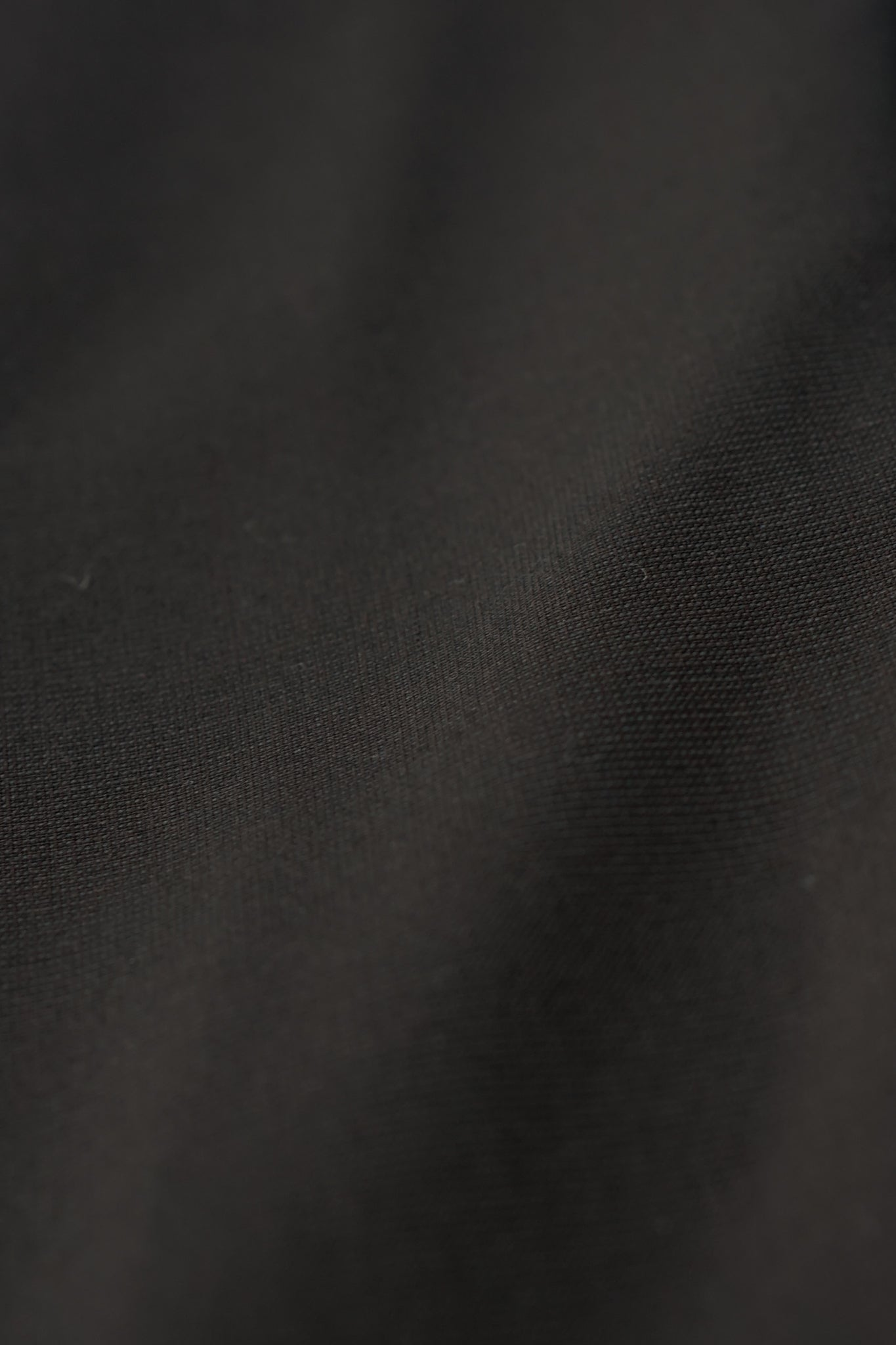 Dark Brown Merino Grosgrain Trousers