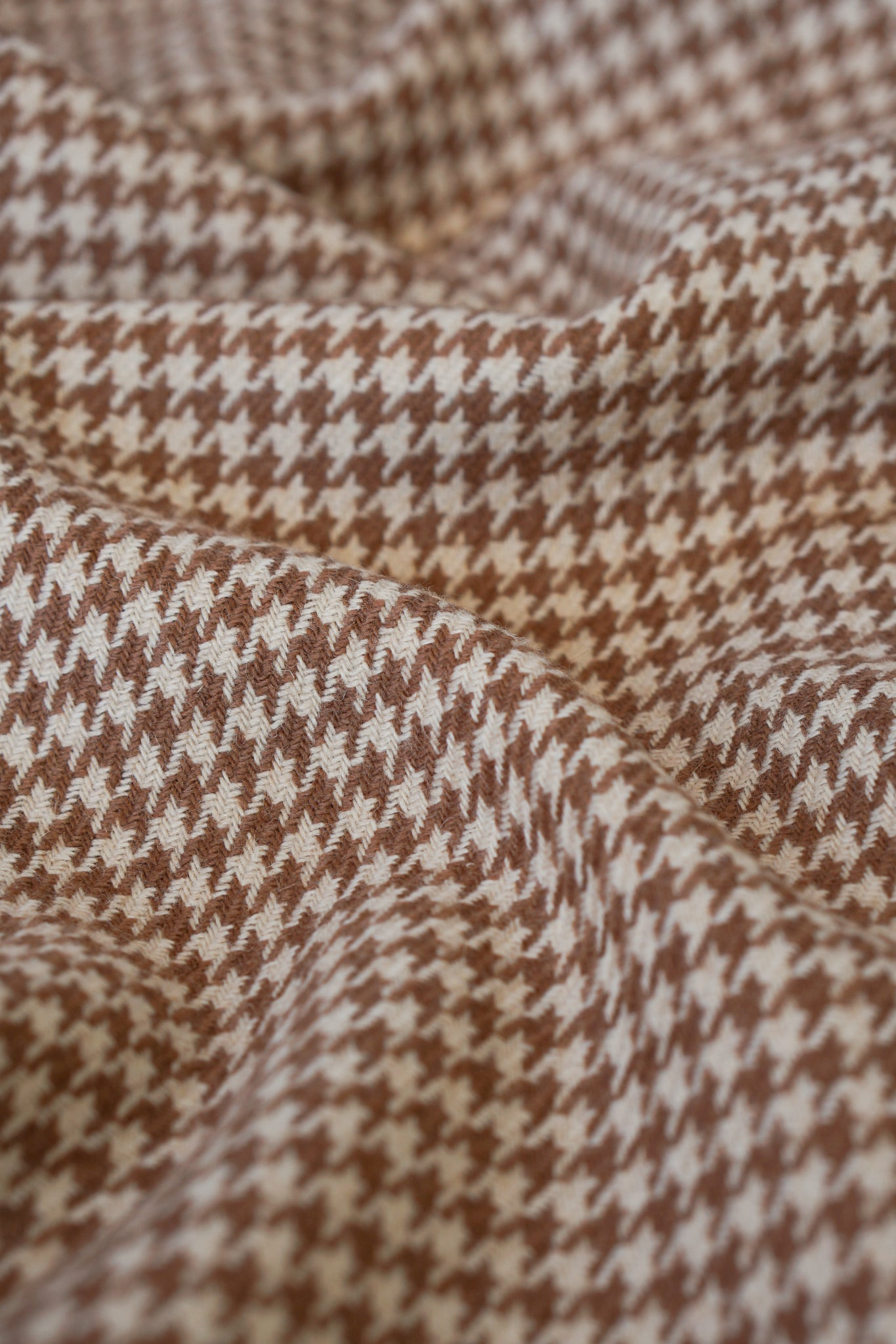 Houndstooth Camel Hair Jacket