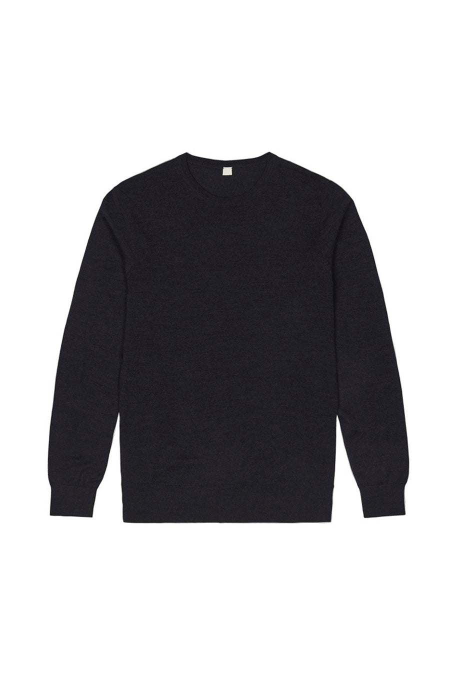 Dark Grey S160 Merino Wool Pullover