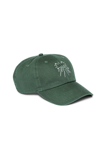 Dartmouth Green Shortstop Cap with White Vesuvio