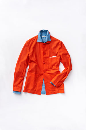 Lobster Superfine Cotton Airtex Shirt Jacket