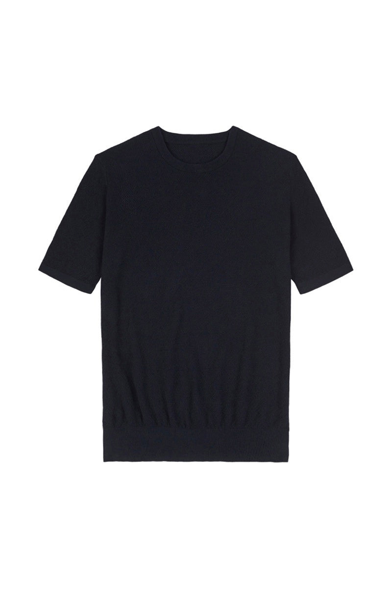 Navy Honeycomb T-Shirt