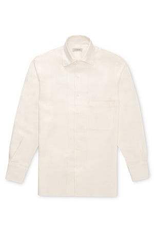 Off White Linen Shirt