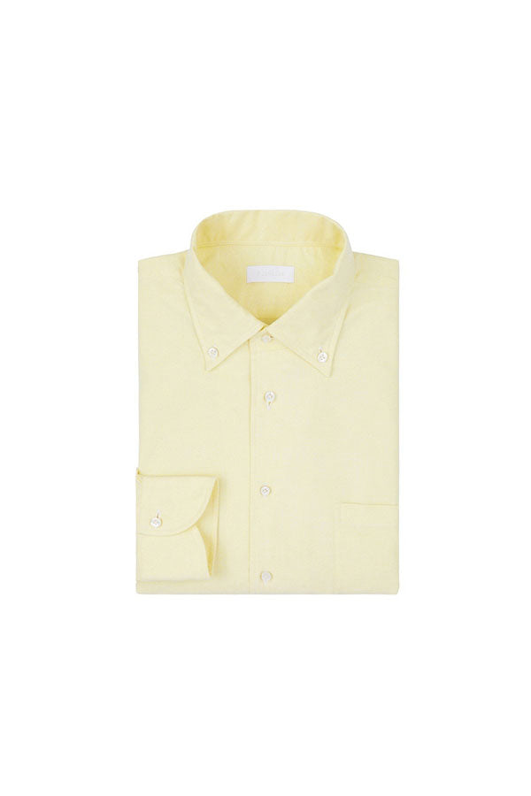 Yellow Oxford Button Down Shirt