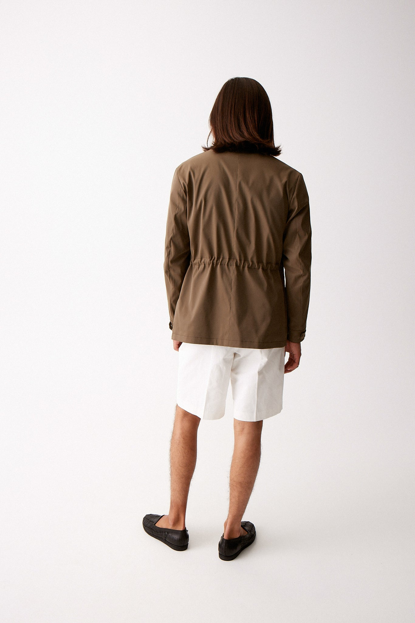 Khaki Technical Field Jacket