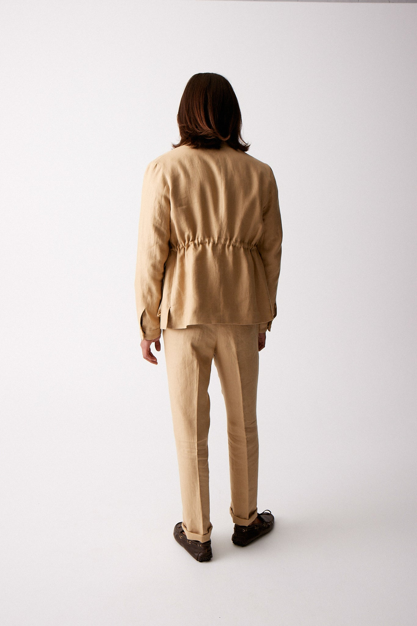 Sand Linen Mountain Coat