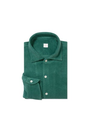 Green Terry Towel Shirt