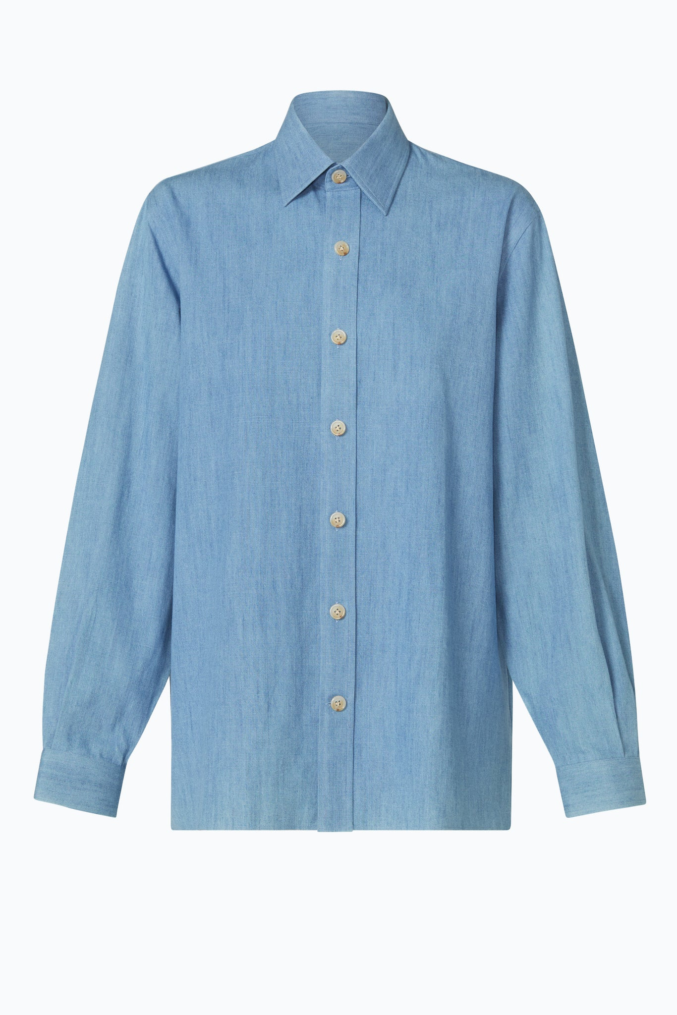 Denim Over Shirt