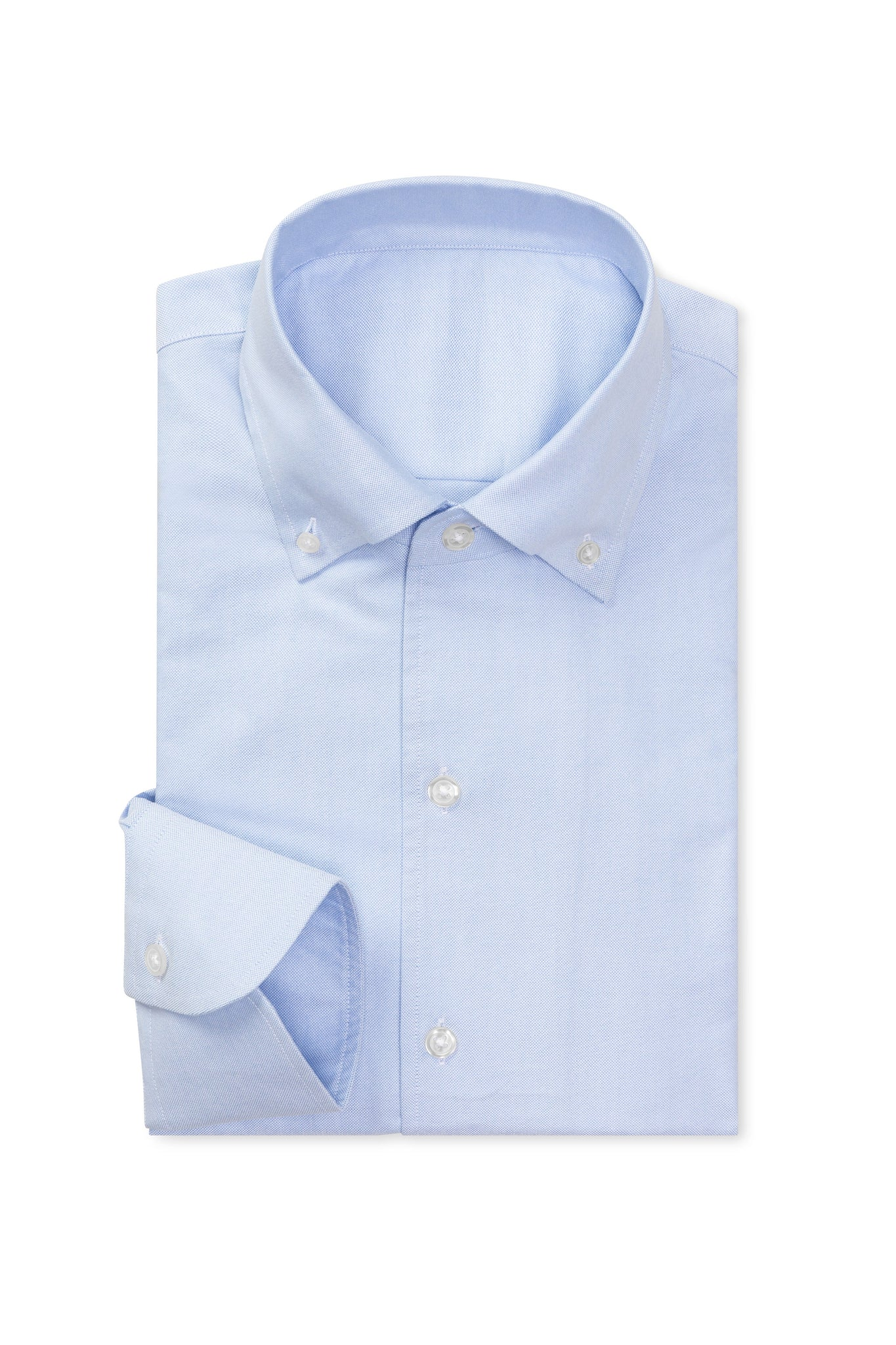 Heavy Oxford Blue Made to Order Shirt
