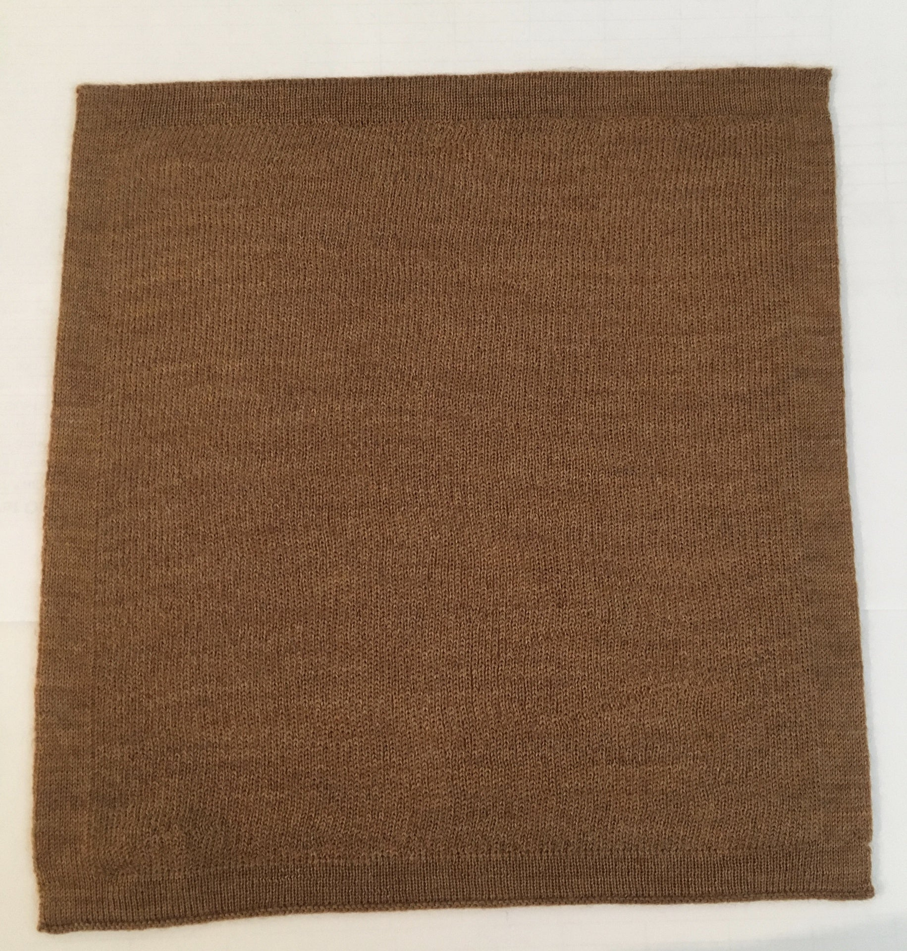 Caramel Merino Pocket Square