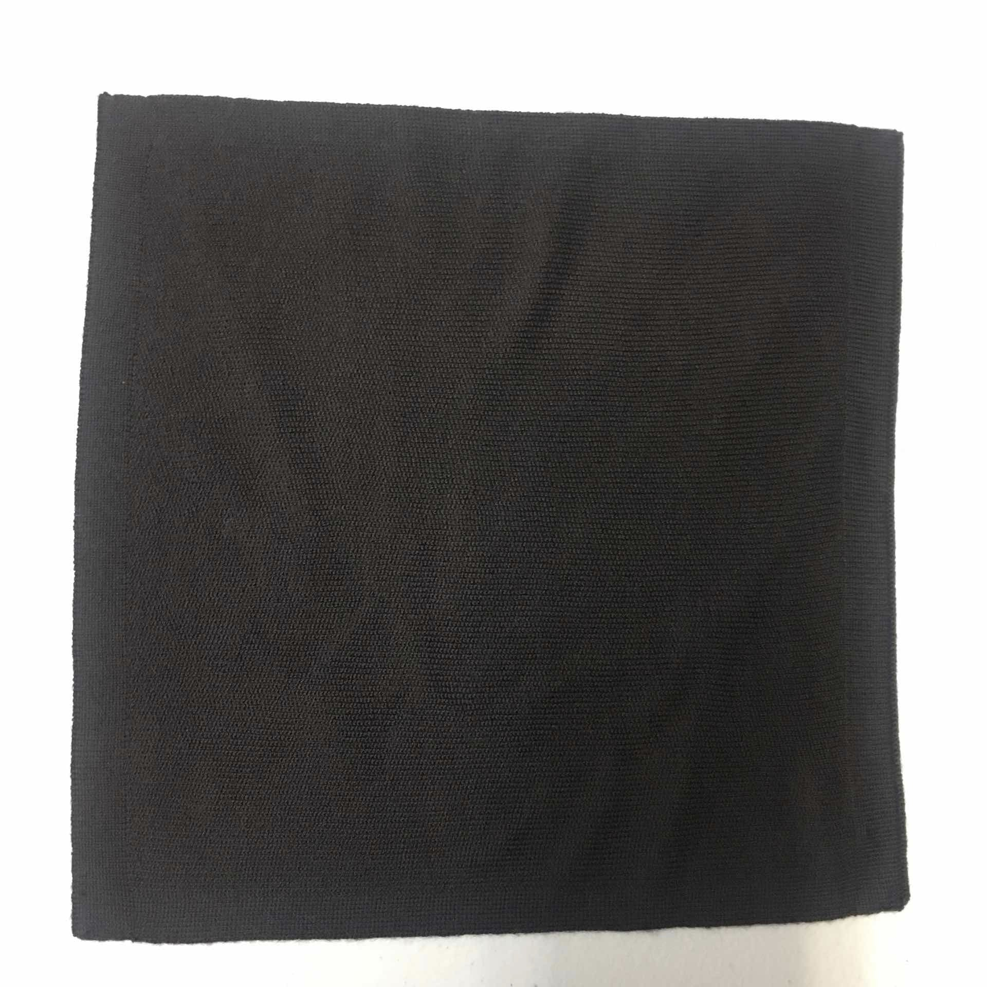 Dark Brown Merino Pocket Square