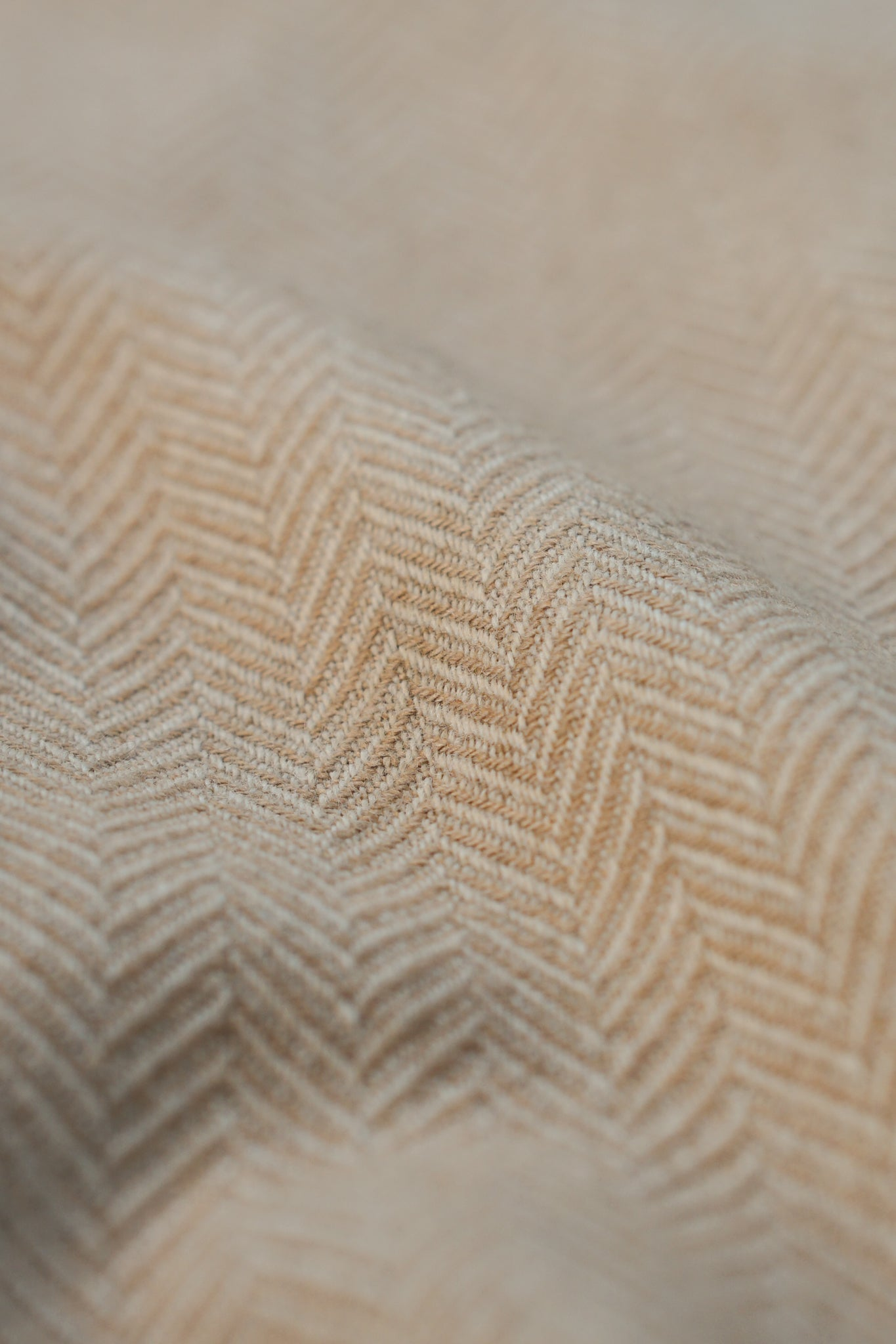 Herringbone Baby Camel Hair Jacket