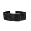 Black Mesh Watch Bracelet Round