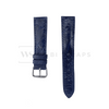 Blue Ostrich Handcrafted Leather Strap Front