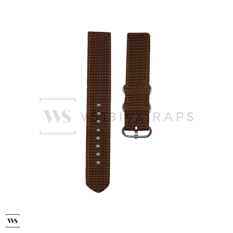 Brown Basic Two Piece ZULU Strap Front