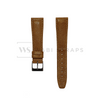 Camel Tan Leather Watch Strap Front