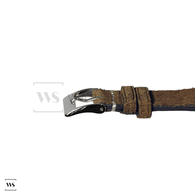 Dirty Green Velvet Watch Strap