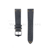 Grey Vintage Leather Watch Strap