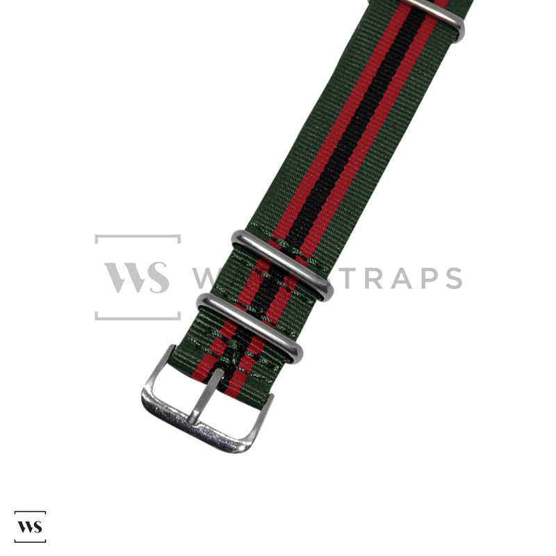 Gucci Regimental NATO Strap
