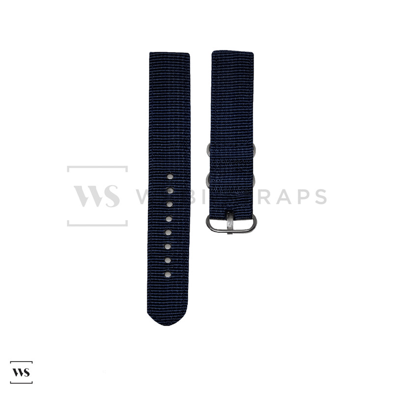 Navy Blue Basic Two Piece ZULU Strap Front