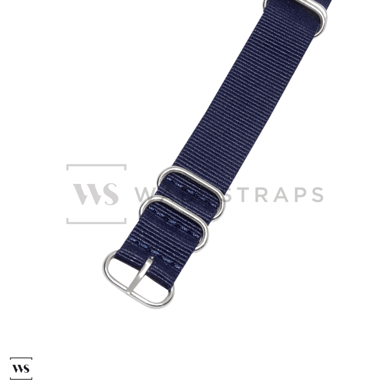 Navy Blue Military ZULU Strap Round
