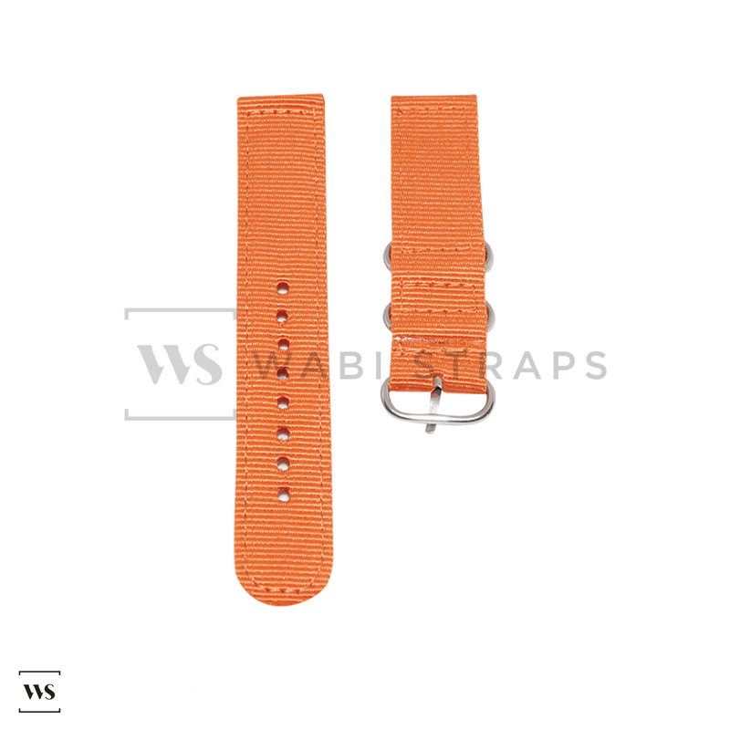 Orange Basic Two Piece ZULU Strap Front