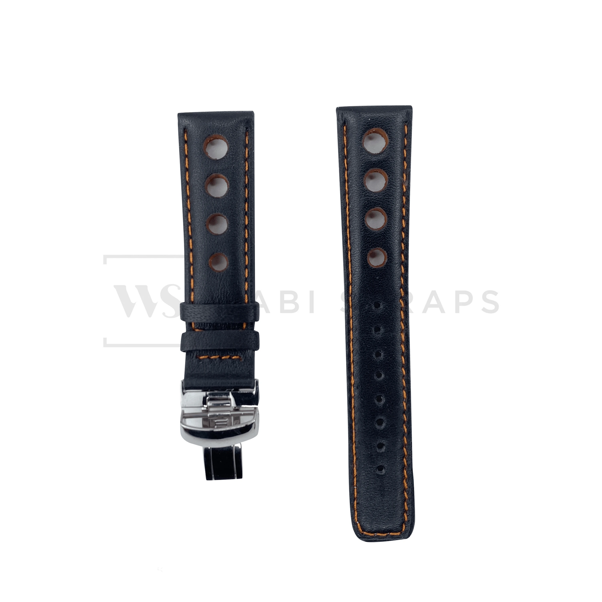 Orange Hole Grand Prix Racing Strap Front