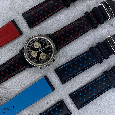 Perforated Rally Watch Strap