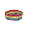 Rainbow Pride Striped ZULU Strap Round