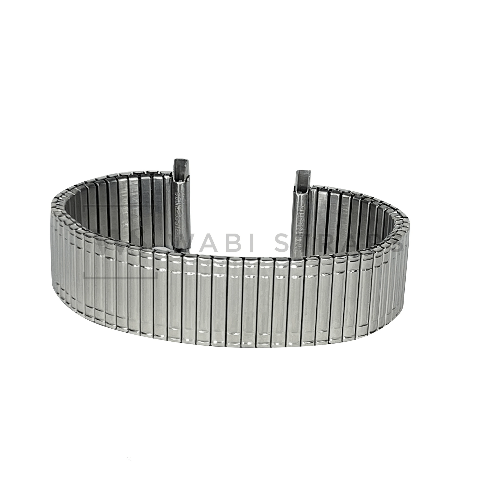 Steel Expansion Elastic Watch Bracelet Round