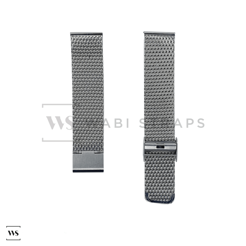Steel Mesh Watch Bracelet Round