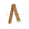 Tan Vintage Leather ZULU Strap Folded