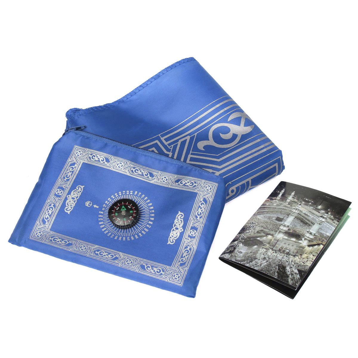 Waterproof Pocket Prayer Mat with Compass