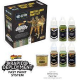 Warlord Games Bolt Action British Army Paint Set