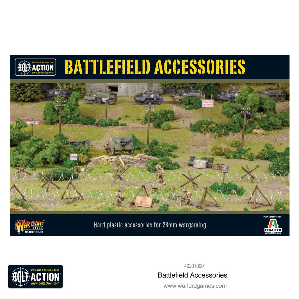 Bolt Action Battlefield Accessories Box From Warlord Games