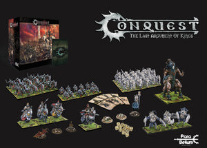 Conquest: The Last Argument of Kings by Para Bellum - 2 player core box set and miniatures