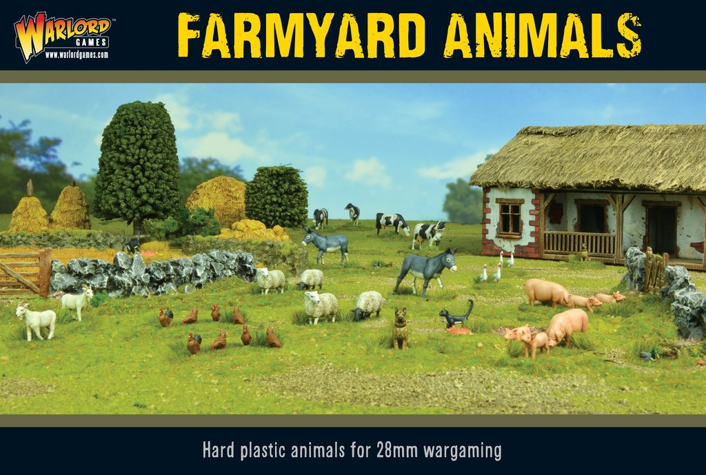 Warlord Games Farmyard Animals box set