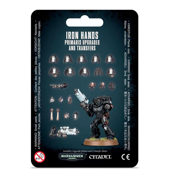 Iron Hands Primaris Upgrades and Transfers