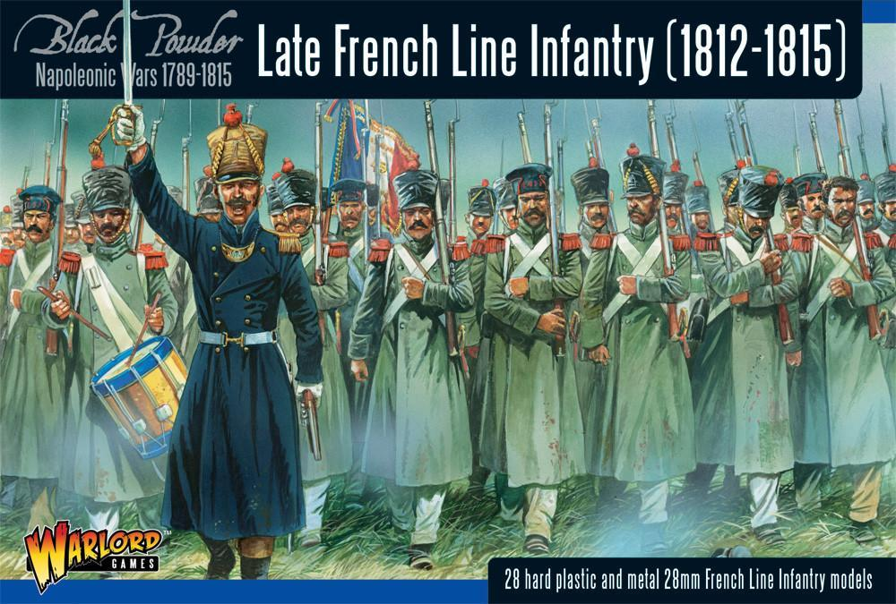 Black Powder - Napoleonic Wars Late French Line Infantry 1812 - 1815