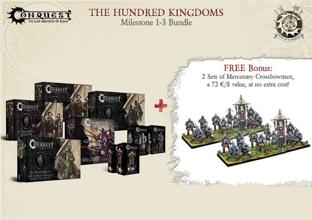 Path of Conquest Hundred Kingdoms Bundle - Milestone 1-3