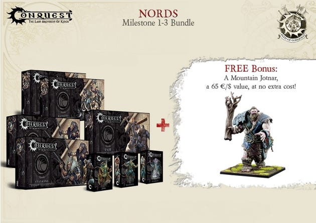 Path of Conquest Nords Bundle - Milestone 1-3