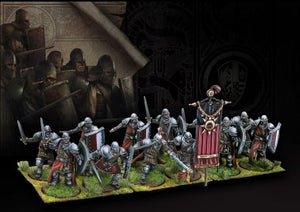 Conquest: The Last Argument of Kings by Para Bellum - Hundred Kingdoms Men-at-Arms miniatures