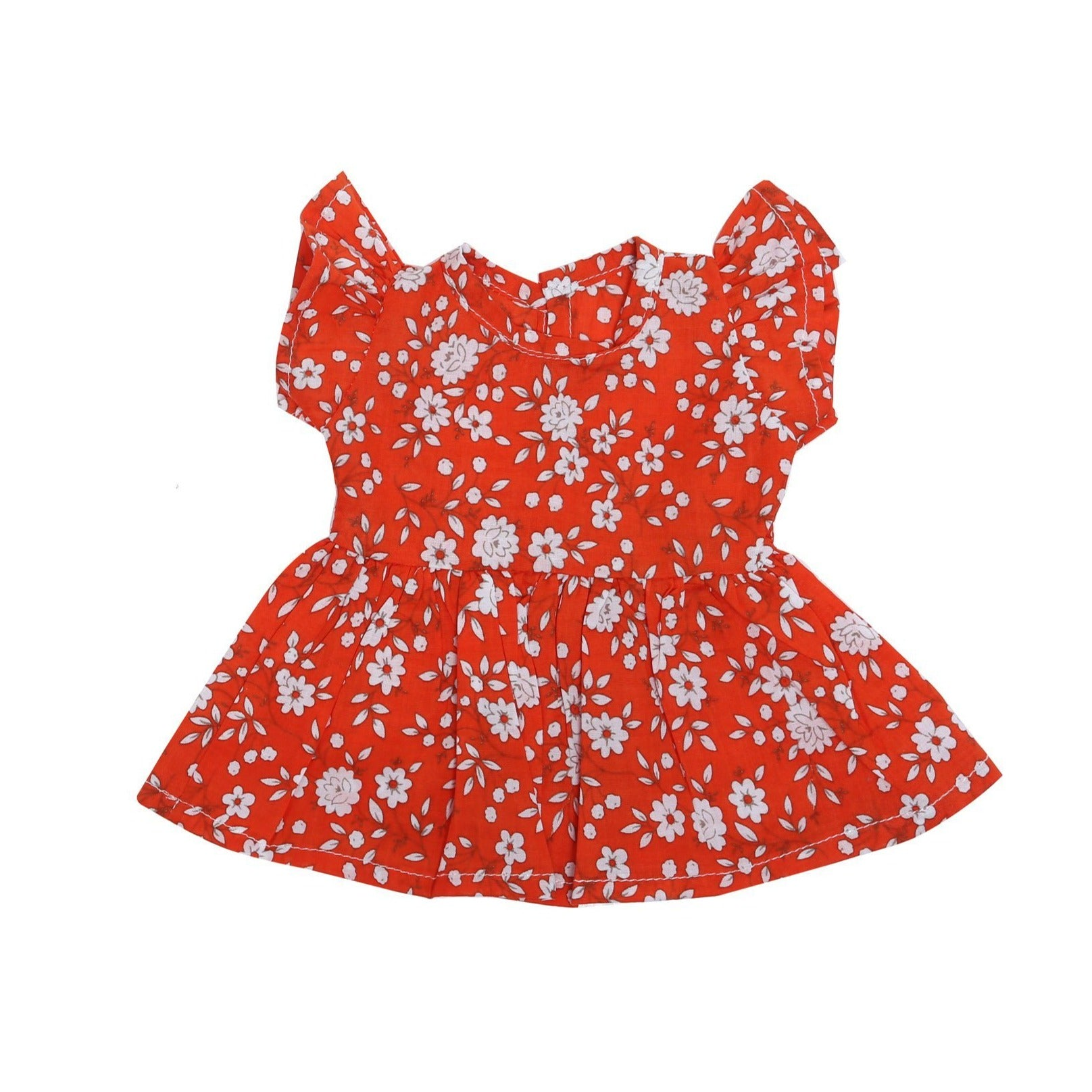 Coco and Ginger - Doll Dress - Joni - Coral Whisper Girls Coco and Ginger