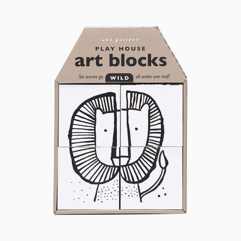 Wee Gallery - Play House Art Blocks - Wild Gifts Wee Gallery