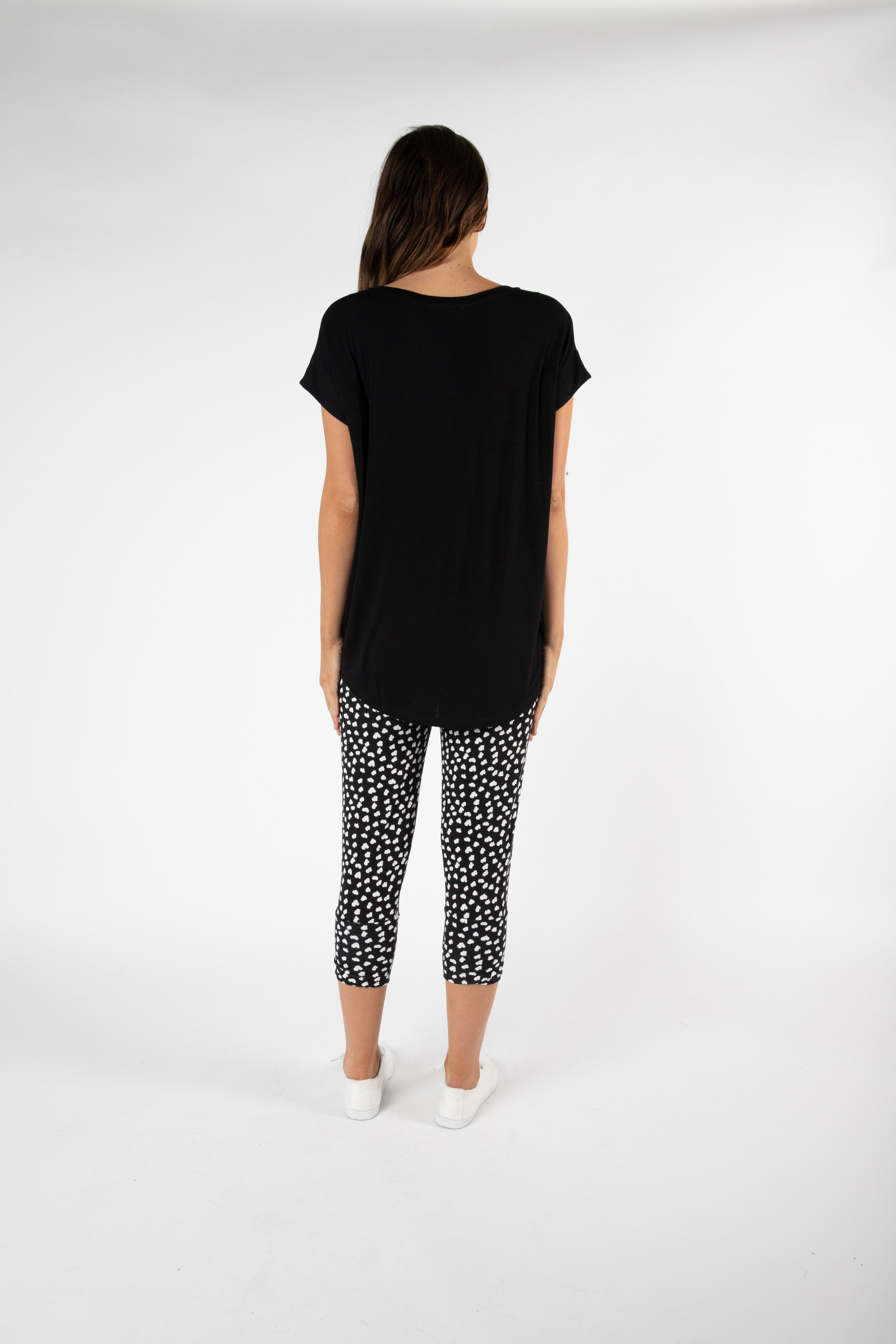 Betty Basics - Toledo Tee - Black Womens Betty Basics