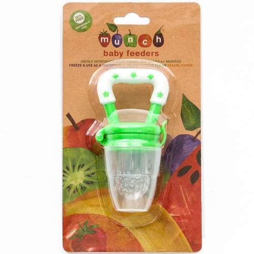 Munch - Baby Feeder - Green Baby Munch