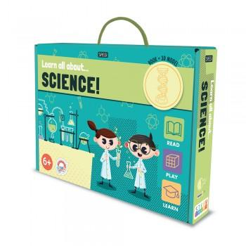 Book and Model Set - Learn All About Science Books Sassi