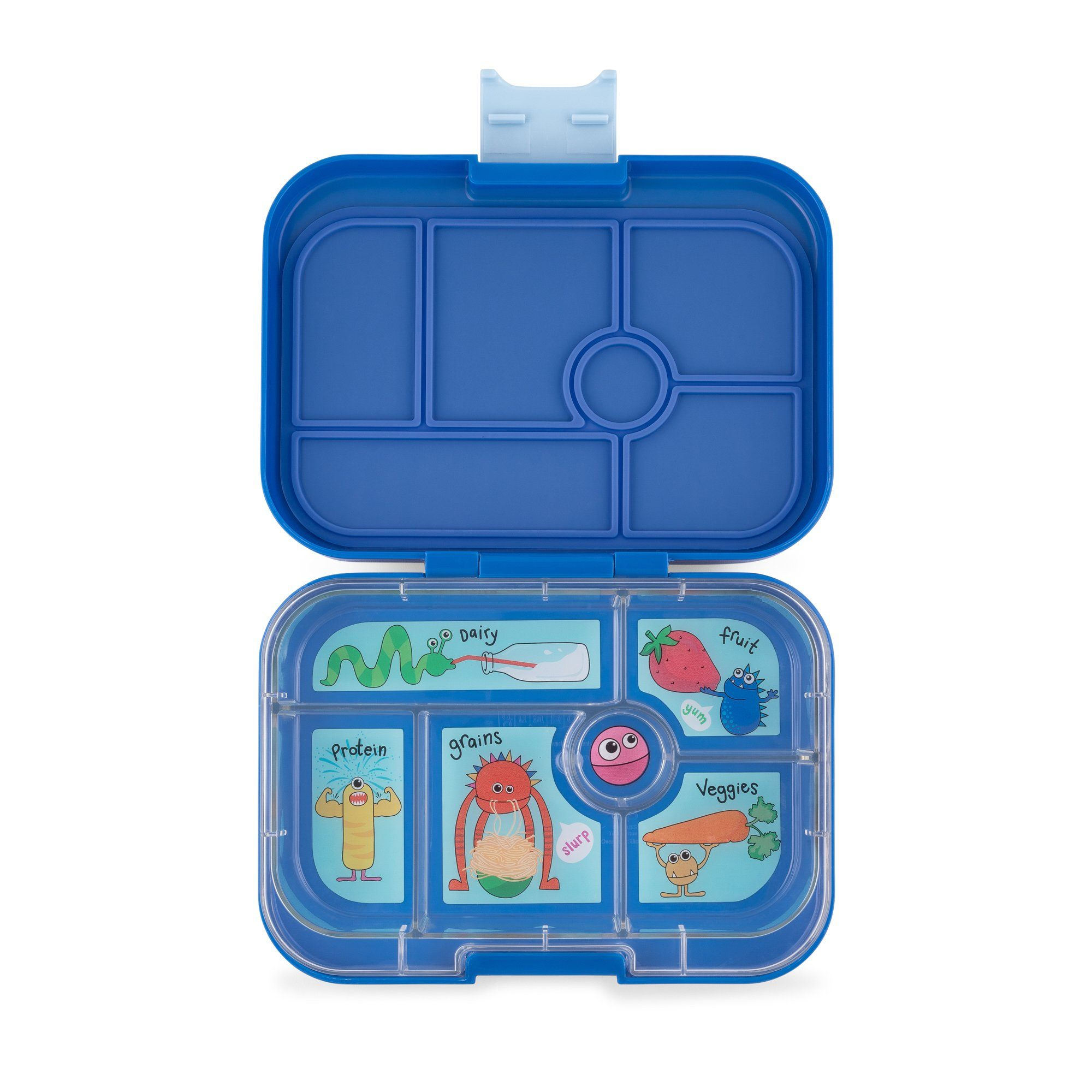 Yumbox - Original / 6 Compartment - True Blue Meal Time Yumbox