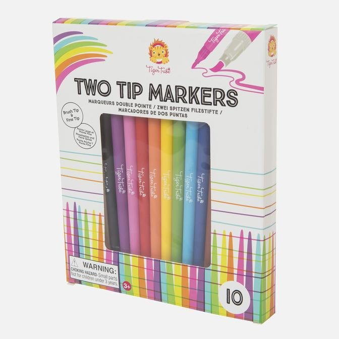 Tiger Tribe - Two Tip Markers Gifts Tiger Tribe